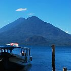 Docking at Atitlan by Marie Anne Hale