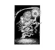 Jack o Lantern Photographic Print