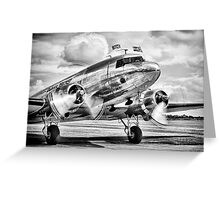 DC-3 Dakota Greeting Card