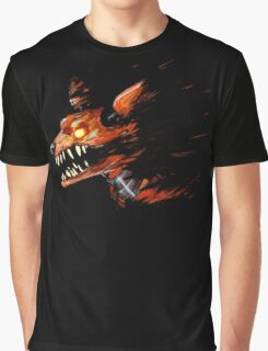 Foxy Five Nights At Freddy's - Without Text Graphic T-Shirt