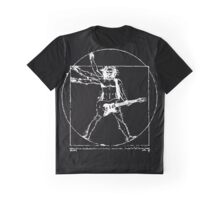 Leonardo Da Electric Guitar Graphic T-Shirt