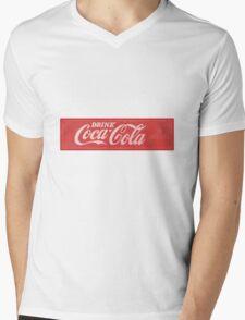 Coca Cola  Mens V-Neck T-Shirt