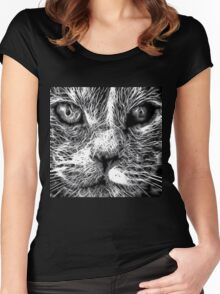 Wild nature - pussy #2 Women's Fitted Scoop T-Shirt