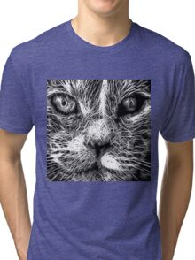 Wild nature - pussy #2 Tri-blend T-Shirt