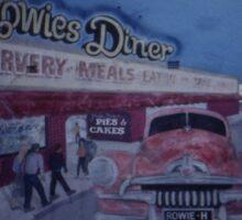 Rowies Diner, West Wyalong, NSW, Australia 1999 Sticker