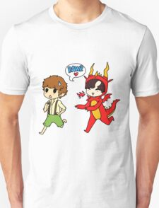 Hob!John and Smaug!lock Unisex T-Shirt