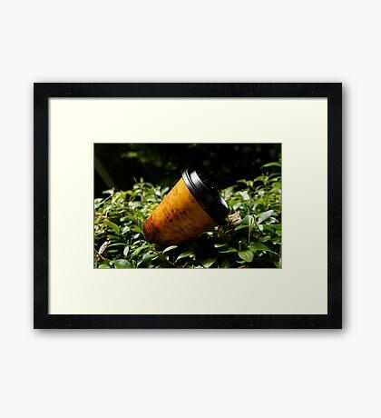 coffeee Framed Print