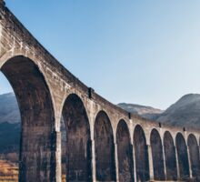 Glenfinnan Viaduct, Scotland Sticker