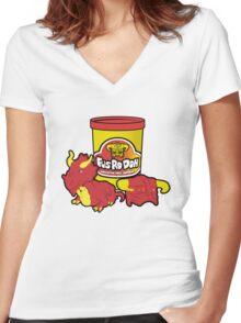 Fus Ro Doh Women's Fitted V-Neck T-Shirt