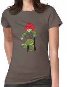The Battle King Womens Fitted T-Shirt