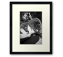 Orange Peel Framed Print
