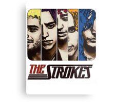 The Strokes Metal Print
