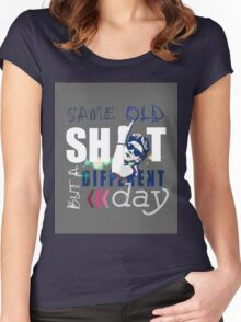 Same Old Sh*t But A Different Day - Niall Women's Fitted Scoop T-Shirt