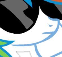 Rainbow Dash Don't Care Sticker