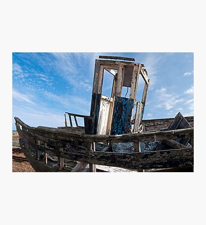Blue Wreck Photographic Print