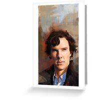 Sherlock Study Greeting Card
