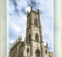 St Lukes Church - The Bombed Out Church - Liverpool - Hand Tinted by Fotopia