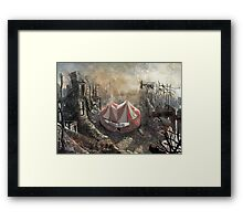 Zombie Circus Framed Print