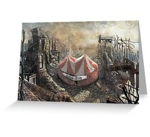 Zombie Circus Greeting Card