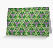 Prismatic Texture 121 Greeting Card