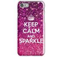 Keep Calm and Sparkle iPhone Case/Skin