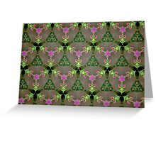 Prismatic Texture 123 Greeting Card