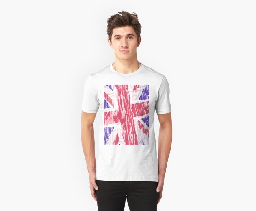 Flag England by leksele
