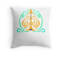 Wind Spade - Color Wire Throw Pillow