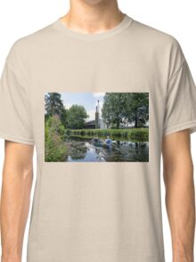 Canoeing Along The Exeter Canal Classic T-Shirt