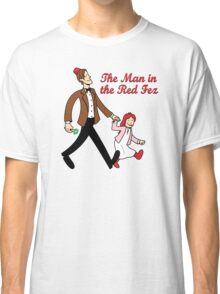 The Man In The Red Fez Classic T-Shirt
