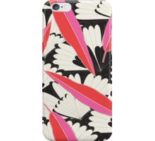 B&W Floral iPhone Case/Skin