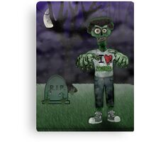 I <3 Zombies Canvas Print