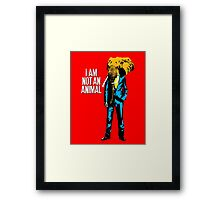 Elephant Man, I am not an animal Framed Print