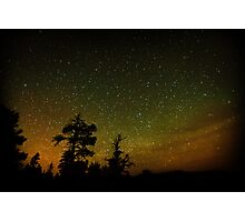 Bryce Canyon starscape Photographic Print