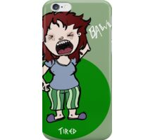 Tired Lux iPhone Case/Skin