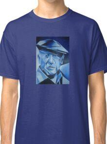 Cubist Portrait of Pablo Picasso: The Blue Period Classic T-Shirt