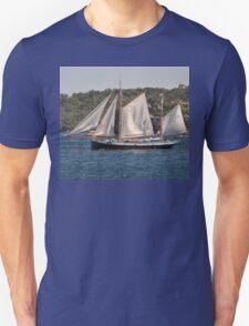 """Tecla"", Tall Ships Departure, Manly, Australia 2013 T-Shirt"