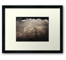 Cumulus B&W Framed Print