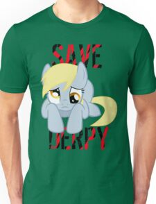 Save Derpy Unisex T-Shirt