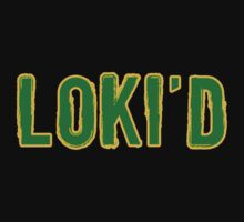 Loki'd tee by Chrome Clothing