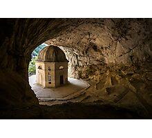Temple of Valadier, Genga, Italy Photographic Print