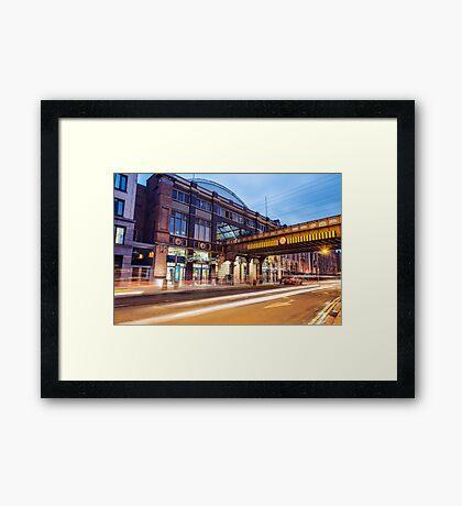 Pearse Train Station, Dublin Framed Print