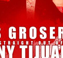 Los Groseros, the #%&@$! Rude Ones #2 Sticker