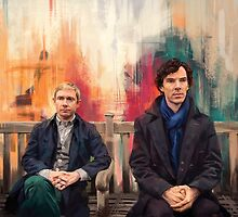 Watson & Sherlock by Wisesnail