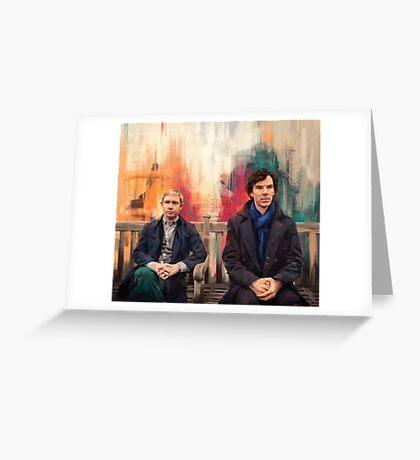 Watson & Sherlock Greeting Card