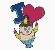 I Love Triple Goober-Berry Sunrise  Kids Clothes