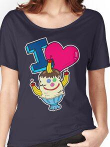I Love Triple Goober-Berry Sunrise  Women's Relaxed Fit T-Shirt