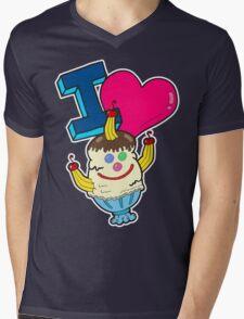 I Love Triple Goober-Berry Sunrise  Mens V-Neck T-Shirt