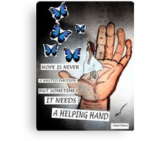 Catching Paper Butterflies Canvas Print