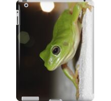 Wall frog iPad Case/Skin